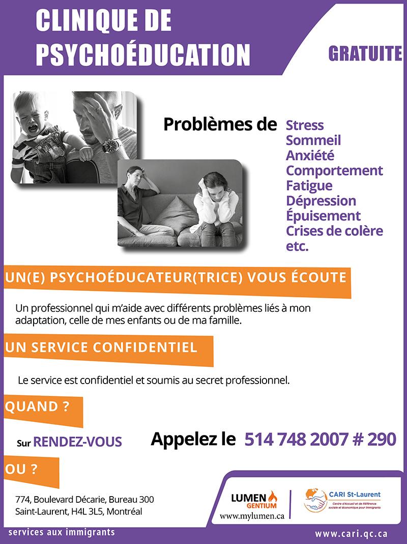 Clinique de psychoéducation